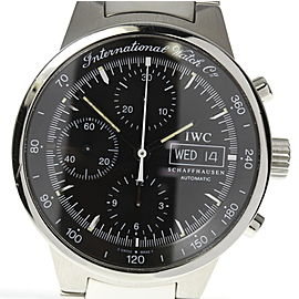IWC W370708 Stainless Steel Black Dial Automatic 40mm Men's Watch