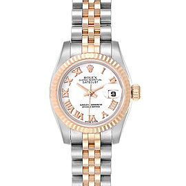 Rolex Datejust Steel Everose Gold Jubilee Bracelet Ladies Watch 179171