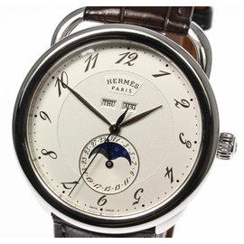 Hermes Arceau Grande Lune AR8.810 43mm Mens Watch
