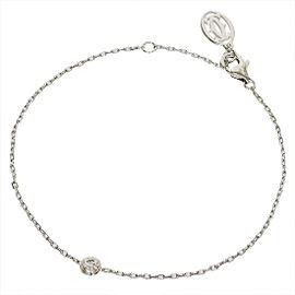 Cartier Diamants Legers De Cartier 18k White Gold Bracelet