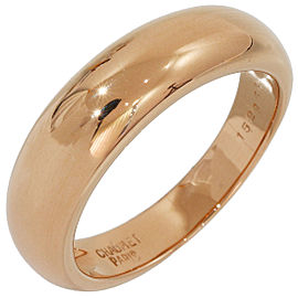 Chaumet 18K Rose Gold Ring Size 7.5