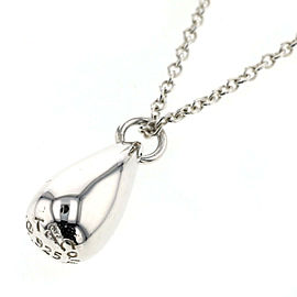 TIFFANY & Co Silver925 teardrop Necklace TBRK-525