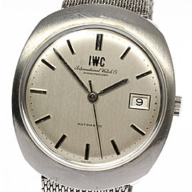 IWC Date Vintage 35mm Mens Watch