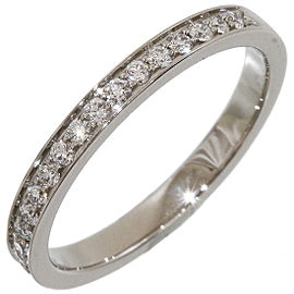 Piaget Platinum Diamond Ring Size 3.5