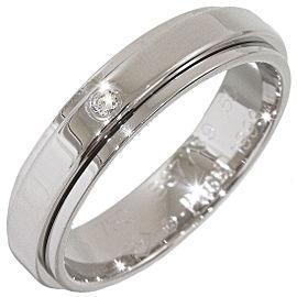 Piaget 18K White Gold Diamond Ring Size 7.5