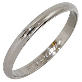 Cartier Platinum Wedding Ring Size 9