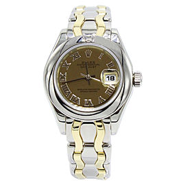 Rolex Pearlmaster 69329 29mm Womens Watch