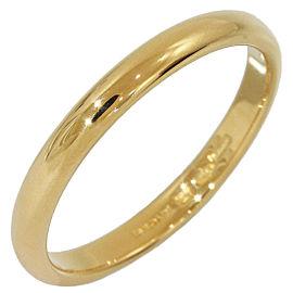 Bulgari 18K Yellow Gold Wedding Ring Size 8.25