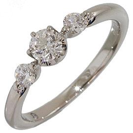 Vecchio Platinum Diamond Ring Size 5