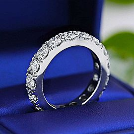 Charming Eternity band with 4.00ct of Round Diamonds ET-20275