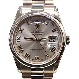 Rolex President Day Date 118205 36mm Mens Watch