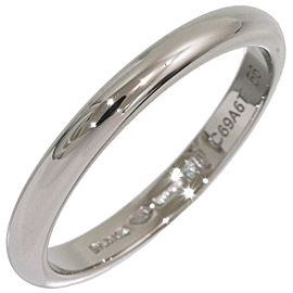 Bvlgari Bulgari Platinum Wedding Ring Size 7.75