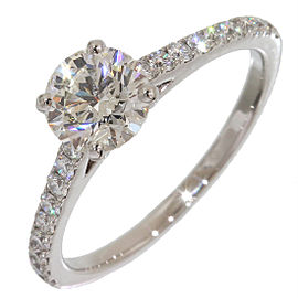 De Beers Platinum Diamond Ring Size 5