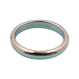 Tiffany & Co. 950 Platinum Lucida Wedding Band Ring Size 4.25