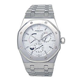 Audemars Piguet Royal Oak Dual Time Power Reserve 26120ST.OO.1220ST.01 39mm Mens