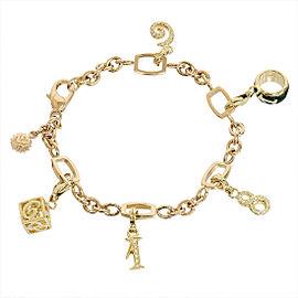 Franck Muller 18K White Gold, 18K Rose Gold Diamond Bracelet