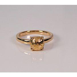 Tiffany & Co. Paloma Picasso 18K Rose Gold Paloma's Sugar Stacks Hammered Ring Size 6