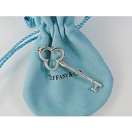 ae4d7177f Tiffany & Co. Sterling Silver Trefoil Key Pendant