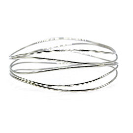 Tiffany & Co. Elsa Peretti 18K White Gold Bracelet