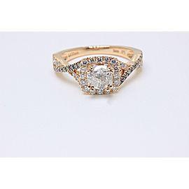 Le Vian 14K Rose Gold Diamond Engagement Ring Size 6.75