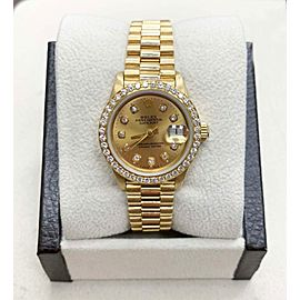 Rolex President 6917 26mm Womens Watch