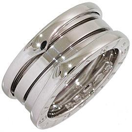 Bulgari 18K White Gold Ring Size 5