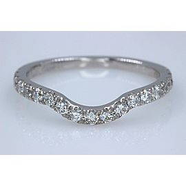 Neil Lane 14K White Gold Diamond Wedding Ring Size 5.5