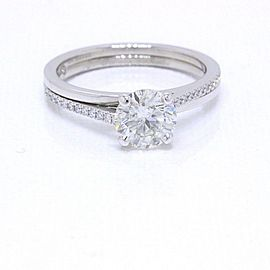 De Beers Promise Diamond Engagement Ring Rounds 1.35 tcw J SI2