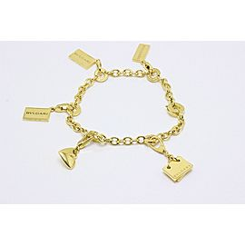 Bulgari 18K Yellow Gold Bracelet