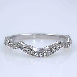 Neil Lane 14K White Gold Diamond Wedding Ring Size 8