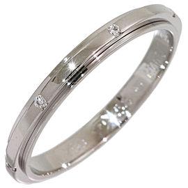Piaget 18K White Gold Diamond Ring Size 8.5