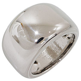 Cartier 18K White Gold Ring Size 6.25