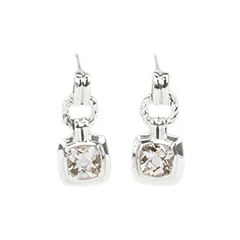 David Yurman Renaissance Sterling Silver Morganite Earrings