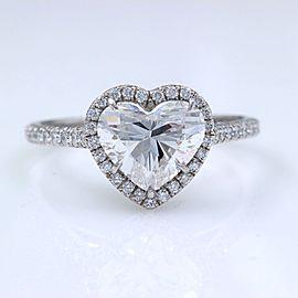Platinum Diamond Engagement Ring Size 6