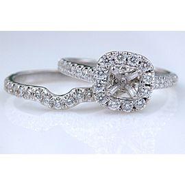Neil Lane 14K White Gold Diamond Ring Size 6.5
