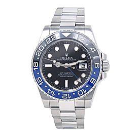 Rolex Date Batman GMT-Master II 116710BLNR 40mm Mens Watch
