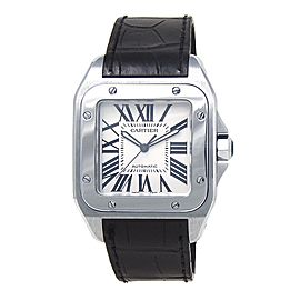 Cartier Santos 100 W20073X8 41mm Mens Watch