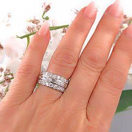 Platinum Diamond Wedding Ring Size 6
