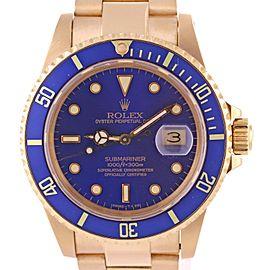 Rolex Submariner Date 16808 40mm Mens Watch