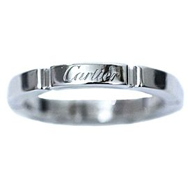 Cartier 18K WG PANTHERE Ring Size 4