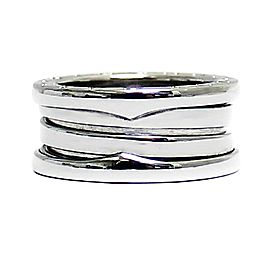Bulgari 18K WG B - Zero 1 Ring Size 4.5