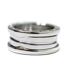 Bulgari 18K WG Be Zero One Ring Size 4.25