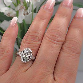 Platinum Diamond Ring Size 5.5