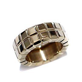 Chopard 18K YG Ice cube Ring Size 4