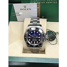 Rolex Deepsea Deep Blue 116660 44mm Womens Watch