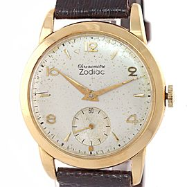 Zodiac Chronometre Vintage 34mm Mens Watch