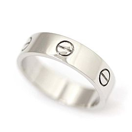 Cartier Love Ring 18K White Gold Size 9.75