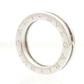 Bulgari B.zero1 18K White Gold Ring Size 5.25