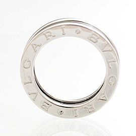 Bulgari B.zero1 18K White Gold Ring Size 4