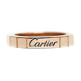 Cartier Lanieres Ring 18K Rose Gold Size 3.5
